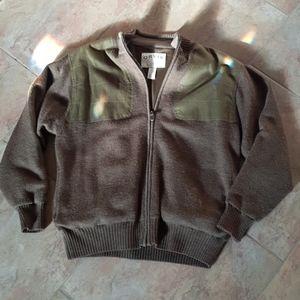 Orvis sweater 100% Wool